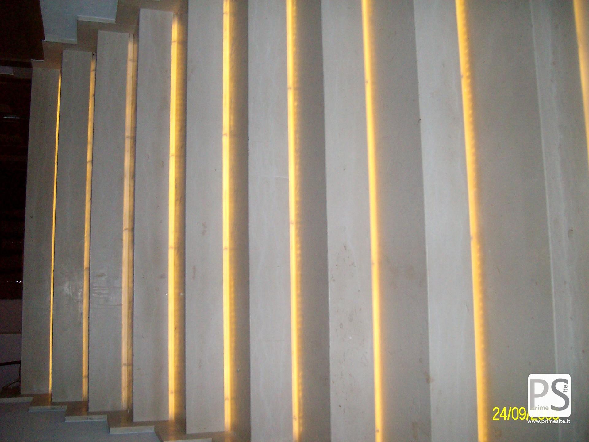 Light design per esterni prime site bang olufsen milano