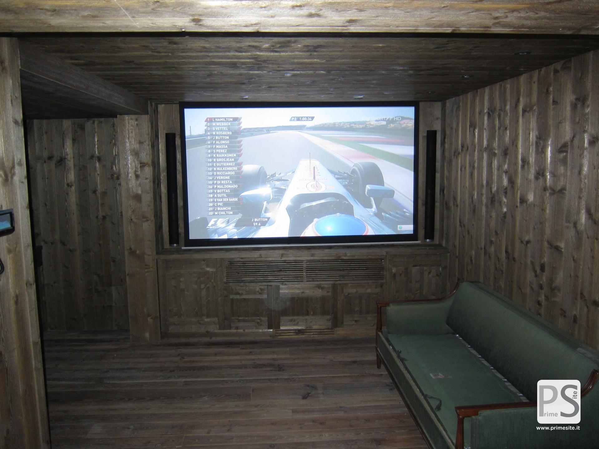 home cinema installations prime site bang olufsen milano. Black Bedroom Furniture Sets. Home Design Ideas