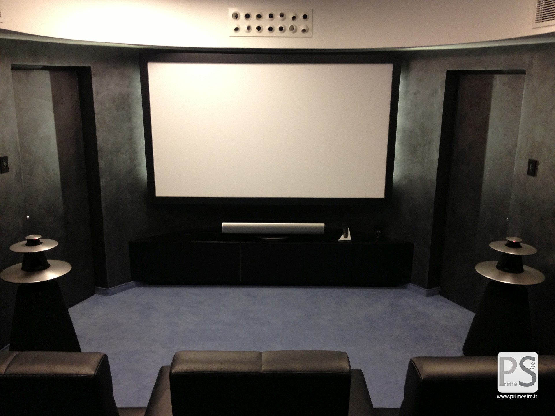 home cinema installations prime site bang olufsen milano. Black Bedroom Furniture Sets. Home Design Ideas